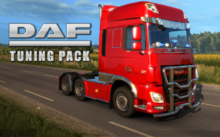 ETS2: Daf Tuning Pack