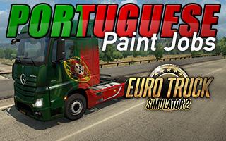 ETS2: Portuguese Paint Jobs