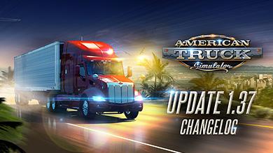 ATS Update 1.37 Changelog